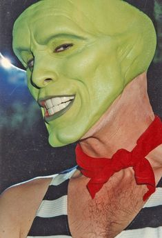 Jim Carrey in the Mask. <----- I've seen this movie sooooooooo many times its not funny ( I still have the VHS copy from when I was a kid) The Truman Show, Cameron Diaz, Dwayne Johnson, Jim Carrey The Mask, O Maskara, Jim Carrey Movies, Jim Carey, Movie Makeup, Artistic Make Up