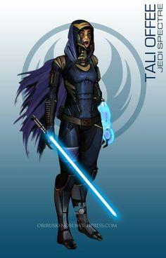 Jedi Spectre - Tali star wars mass effect ... °°