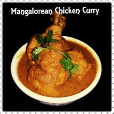Chinu's Kitchen Corner: Mangalorean Chicken Curry