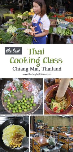 The best Thai Cooking Class in Chiang Mai, Thailand! | The Bug That Bit Me