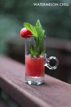Watermelon Chill cocktail. Yum.