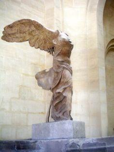 Winged Victory, Louvre, Paris