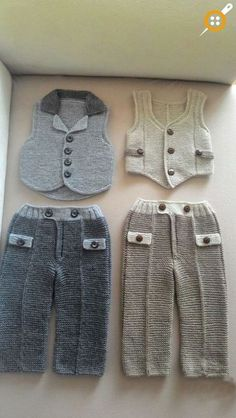 Baby Boy Knitting Pants Models - Baby Pants Knitting Models - Baby boy knitted pants patterns Source by synnedingles Pants Baby Boy Knitting Patterns, Baby Patterns, Knit Patterns, Knitting For Kids, Easy Knitting, Baby Boy Dress, Baby Pants, Baby Outfits, Kids Outfits