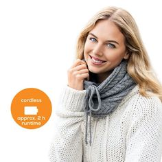 Stay Warm 🔥 With the Beurer Heated Tube Scarf 🧣 with Powerbank HK you can stay warm during the colder months. With 3 temperature settings and 2 hours of battery life, it will keep you warm and cosy. Safety Switch, Tube Scarf, Charging Cable, Cold Day, Stay Safe, Cosy, South Africa, To Go, German