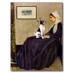 Toy Fox Terrier - Whistler's Mother