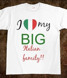 Italian family :) and the delicious food