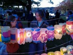 Lanterns at the Jamaica Plain lantern festival Penny For The Guy, Guy Fawkes Night, Diwali Lamps, Jamaica Plain, Lantern Festival, Plastic Bottle Crafts, How To Make Lanterns, Bonfire Night, Party Activities