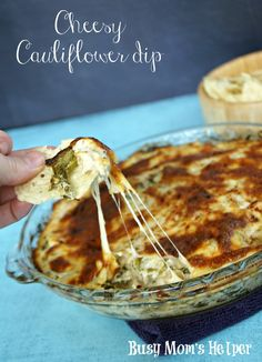 Cheesy Cauliflower D