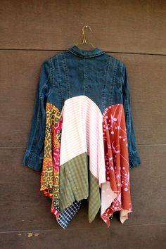 Boho Jacket for Fall, Junk Gypsy Style