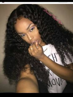 Deep wave lace front