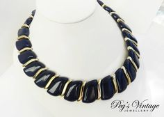 Retro Choker//Necklace Costume Jewelry by PegsVintageJewellery, $14.00