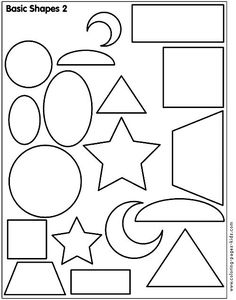 shapes coloring pages.html