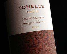 Toneles  #wine #spirit #label #packaging #design #taninotanino #maximum #winelabel