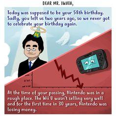 Happy birthday and thank you Mr. Iwata!