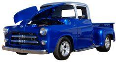 '56 Dodge Pickup. We call him 'Old Blue'