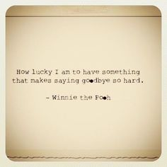 Winnie the Pooh #quote