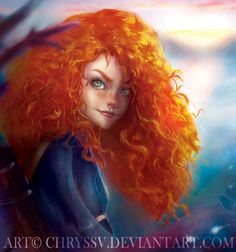 "Merida by chryssv.deviantart.com on @DeviantArt - From ""Brave"""