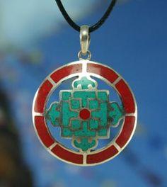 Dharmashop.com - Tibetan Mandala Pendant, $49.00 (http://www.dharmashop.com/products/Tibetan-Mandala-Pendant.html)