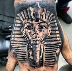 Egyptian Tattoo Men's Design