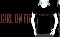 Girl On Fire by MeteorMuse