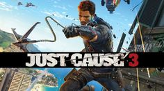 Rico Rodriguez is back in Just Cause 3 to cause some chaos in Medici and help the rebels overthrow the dictator General Sebastiano Di Ravello. Just Cause 3 Life Is Strange, Jean Marc Généreux, Just Cause 2, Arcade, Playstation Plus, Ps3, Riot Points, Indie, September