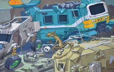Derm, awesome street art, wall murals, amazing urban art, world's best street artists, free walls, graffiti.