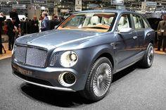 Bentley EXP 9 F Concept at Geneva