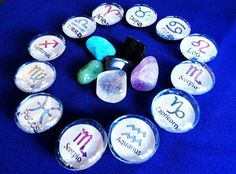 Horoscope Magnets Mix and Match set of 3 FREE by MystikVibes