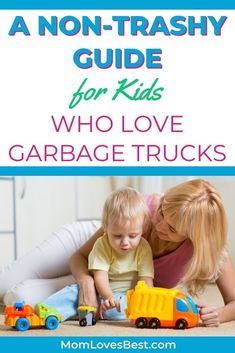 This guide will cover all garbage-related toys your child may like if they are a fan of garbage trucks. #toys #kidstoys #kidstoyplay #kidsplay #playideas #babyplay #babytoys #babytoddlertoys
