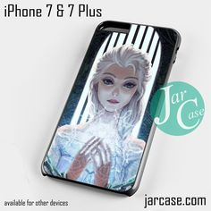 beautiful elsa queen Phone case for iPhone 7 and 7 Plus