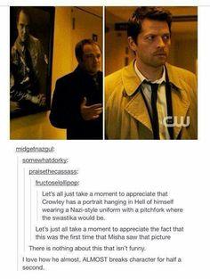 Hahaha....Misha...