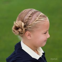 jehat hair — Double rope twists to a twisted bun!   #twinshair...