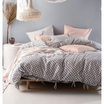 Linen House Chesnay Super King Quilt Cover Set