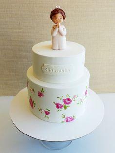 Little angel - by HaveSomeSugar @ CakesDecor.com - cake decorating website