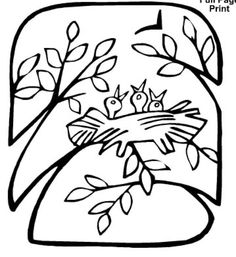 Kids Will Love These Free Springtime Coloring Pages: Spring Coloring Pages at Apples 4 the Teacher