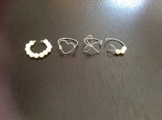 Diy Wire Ring Jewelry Pinterest - Cute diy wire rings for middle phalanges