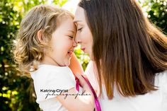 ADORABLE  - no other words needed! Photographed in their back yard using beautiful back lighting. A super special moment with mum. Lifestyle colour Photography in your own home. BRISBANE http://www.katrinachrist.com.au/portrait-photo-gallery/Lifestyle-Collection.aspx