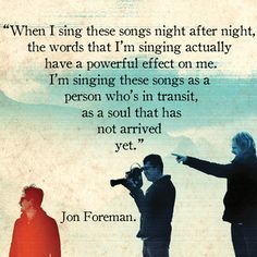 Jon Foreman, Switchfoot.
