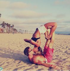 I want a boyfriend that works out with me and can do things like this... Is that so much to ask? lol