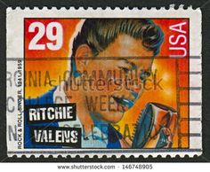 US Stamp 1993 - Rock & Roll Rhythm & Blues Ritchie Valens