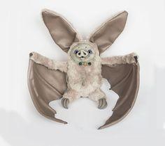 Bat art doll by Furrykami
