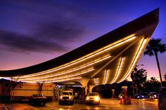 Jack Colker Union 96 Gas Station, Beverly Hills