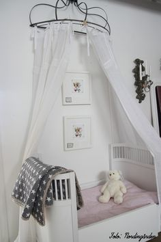 baby's room. that canopy thing is cool