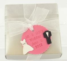 Sculpey® III Wedding Favor Tag