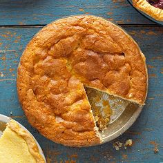Snickerdoodle Pie - This cinnamon-filled sweet is cakey, with all the charm of the cookie in pie form. Serve it warm, topped with vanilla ice cream.