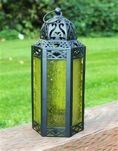 Wholesale Yellow Moroccan Candle Lantern. Not just candlelight—these lanterns add color, pattern and an exotic global vibe to your patio or porch. http://www.wholesalemart.com/Wholesale-Candle-Lanterns-s/294.htm