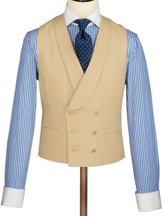 Buy our Buff linen morning suit waistcoat exclusively from Charles Tyrwhitt of Jermyn Street, London. Morning Coat, Morning Suits, Morning Dress, Waistcoat Men, Mens Suit Vest, Mens Suits, Der Gentleman, Gentleman Style, Beige Suits