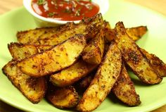 Easy And Very Tasty! Potato Boats, Chicken Wings, Food To Make, French Toast, Spicy, Potatoes, Tasty, Meat, Cooking