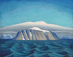 View Island off Greenland, arctic sketch XIX by Lawren Harris on artnet. Browse upcoming and past auction lots by Lawren Harris. Canadian Painters, Canadian Artists, Landscape Art, Landscape Paintings, Group Of Seven Paintings, Tom Thomson, Sea Pictures, House Painter, Art Boards