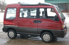 Subaru Sambar photos, picture # size: Subaru Sambar photos - one of the models of cars manufactured by Subaru Subaru Impreza, Automobile, Kei Car, Good Drive, Subaru Cars, Mini Bus, Motorcycle Travel, Mini Trucks, Daihatsu